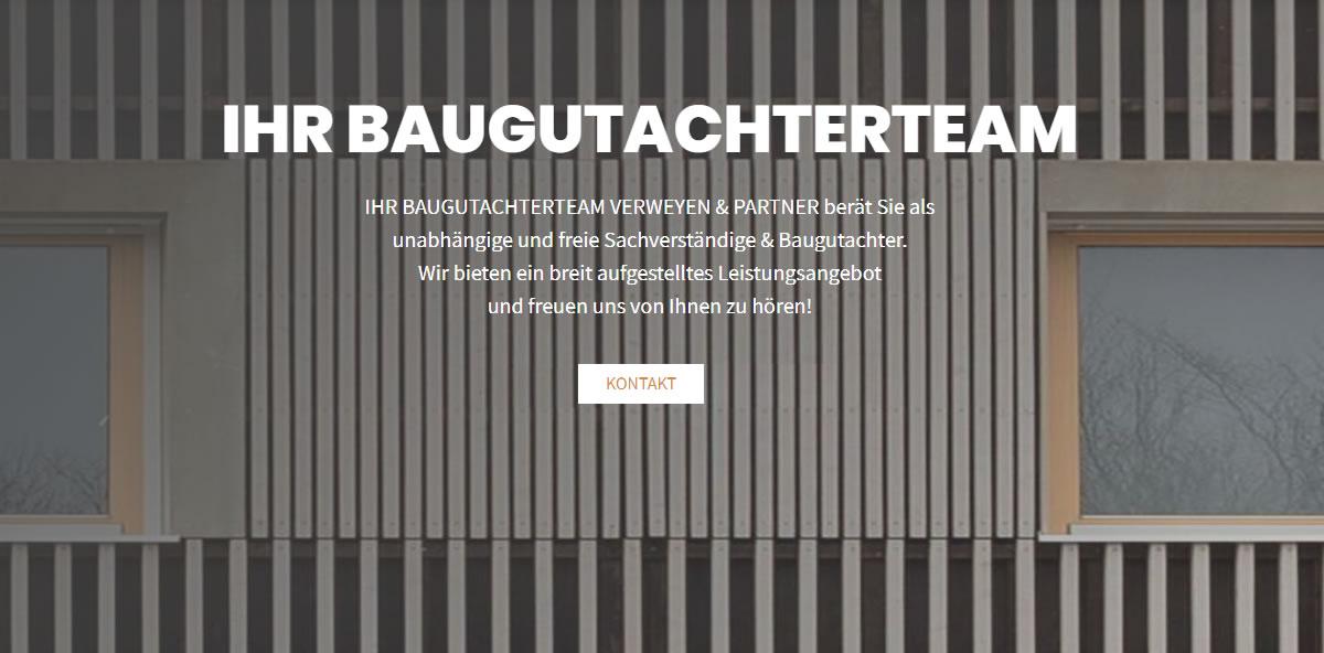 Baugutachter Gauting 🥇  BAUGUTACHTERTEAM VERWEYEN & PARTNER ✔ Sachverständiger, Hauskaufberatung