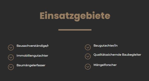 Baugutachter Einsatzgebiete für  Gauting, Neuried, Germering, Gilching, Krailling, Planegg, Gräfelfing und Starnberg, Weßling, Alling