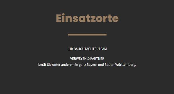 Bausachverständgier Einsatzorte in 82131 Gauting - Oberwies, Oberbrunn, Mitterwies, Königswiesen, Hausen, Grubmühl oder Buchendorf, Stockdorf, Reismühl